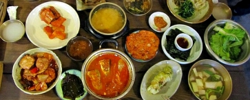 food dishes korea